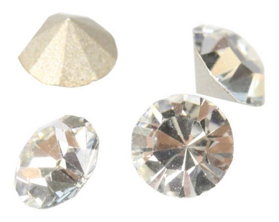 1400 Piedras De Cristal Tipo Diamante Natural O Tornasol 4mm