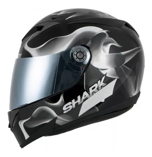 Capacete Shark S700 Glow 3 Preto Original Garantia Novo
