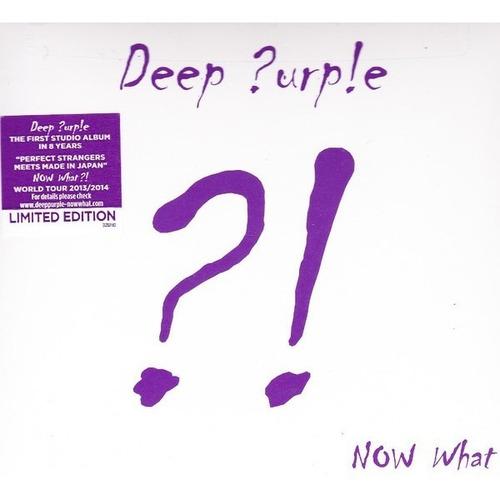 Imagen 1 de 2 de Deep Purple  - Now What?! - Cd