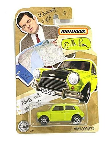 Imagen 1 de 1 de Carro De Juguete, Color Amarillo, Mr Bean Mini Cooper