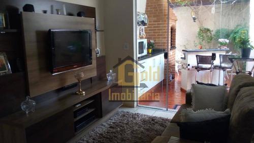 Casa Com 3 Dormitórios À Venda, 150 M² Por R$ 540.000 - Residencial Jequitibá - Ribeirão Preto/sp - Ca1064