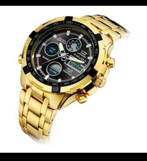 Relógio Original, 100% A Prova De Água.