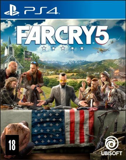 Far Cry 5 Original 1 Ps4 Psn Pt Br