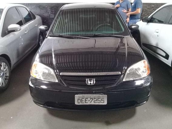 Honda Civic 1.7 Lx Automatico Ano 2001