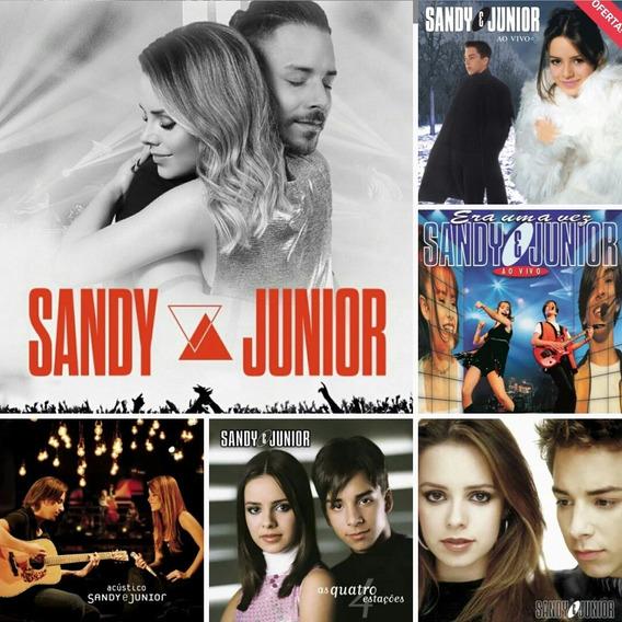 Sandy E Junior - Cd Lançamento - 5 Álbuns Lacrados