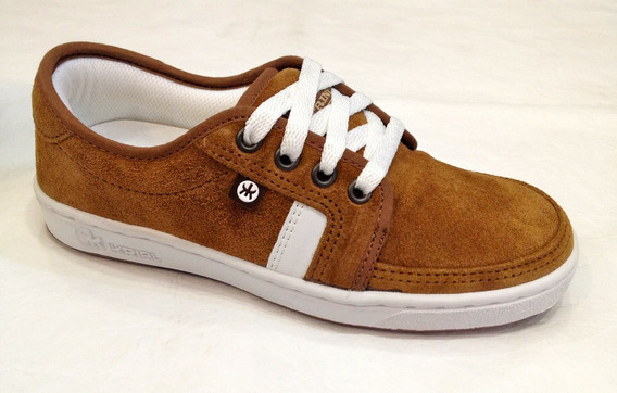 Zapatilla ** Krial Footwear ** Trinity Gamuza Brown
