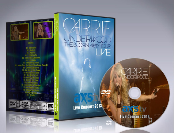 Dvd Carrie Underwood - The Blown Away Tour 2013