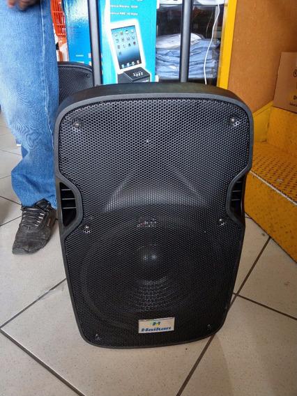 Caixa De Som Amplificada 120w Rms, Bluetooth, Usb, Sd, ...