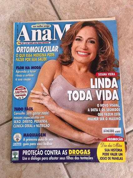 Revista Ana Maria 394 Susana Vieira Xuxa Angélica Ano 2004