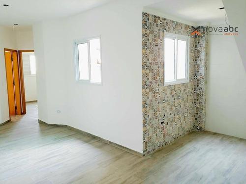Imagem 1 de 5 de Apartamento À Venda, 37 M² Por R$ 245.000,00 - Vila Curuçá - Santo André/sp - Ap2497