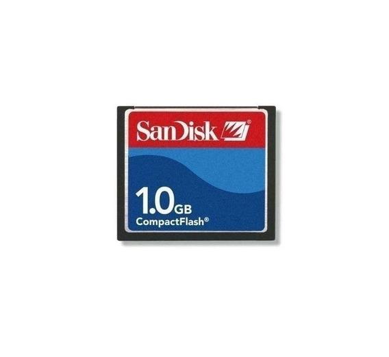 Memoria Compact Flash 1gb Sandisk Cnc Cf Factura A B Envios