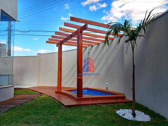 Casa Com 3 Dormitórios À Venda, 141 M² Por R$ 580.000,00 - Parque Novo Mundo - Americana/sp - Ca1220