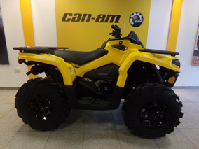 Cuatriciclo Can Am Outlander 570 L Pro 2017 Amarillo