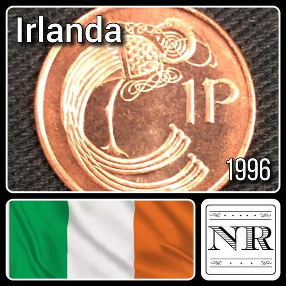 Irlanda - 1 Pingin - Año 1996 - Km # 20a - Pajaro Estilizado