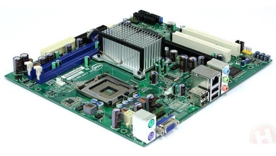 Kit Intel Placa Mae Dg41rq + Core2duo 2.8ghz + 2gb