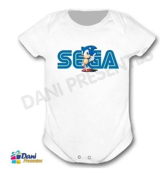 Body Sonic Sega - 100% Algodão
