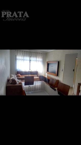 Marapé Santos Mobiliado 2 Dorm Sala Ampla Coz Planejada Vg Col - A398598