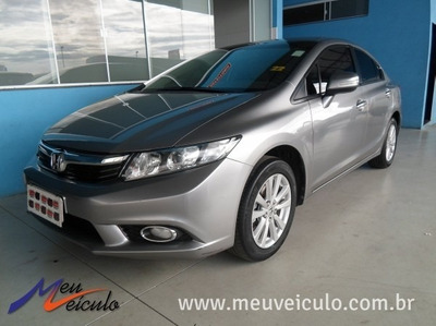 Honda Civic 1.8 Lxl Se 2012/2012 Prata