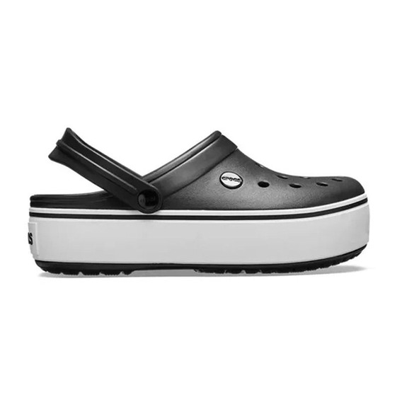 Crocs Band Plataforma Negra - Crocsband Originales