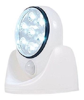 Luminaria De Parede 7 Leds Com Sensor De Presença E Detector
