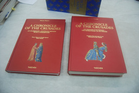 Livro A Chronicle Of The Crusades Caixa 2 Volumes Taschen