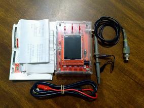 Osciloscópio Dso138 Montado + Case Acrílico + Sonda P6100