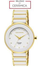 Relógio Technos Sapphire - Branco
