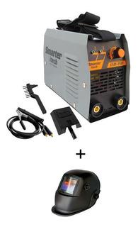 Maquina De Solda Inversora Evo 150c 220v Smarter+mascara Aut