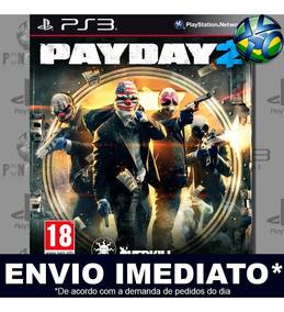Payday 2 Ps3 Midia Digital Psn Promoção Envio Imediato