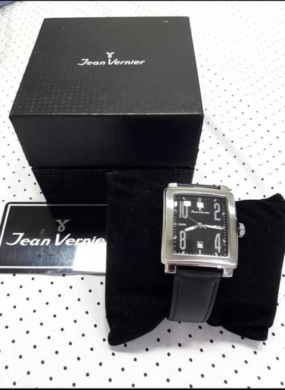 Relógio Jean Vernier Retangular