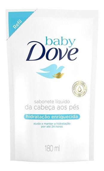 Sabonete Líquido Baby Dove Hidratação 180ml