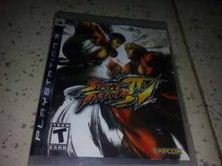 Street Fighter Iv Videojuego Consola Ps3 Excelente Estado