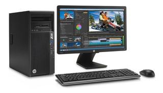 Cpu Hp Core I7 16gb 1tb + 120 Ssd Monitor 24