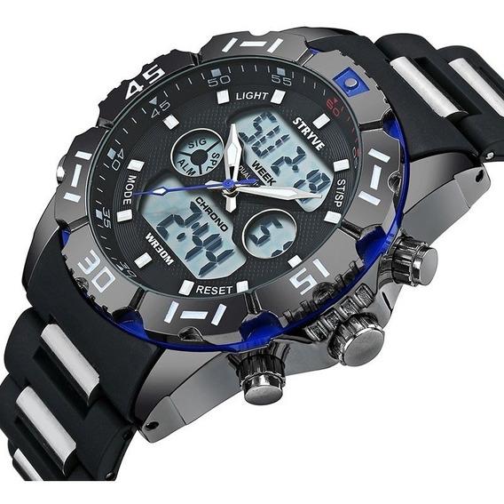 Relojes Hombre Stryve S8010 Militar Navy Seal Sport Analogo