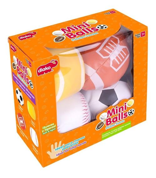 4 Balones Suaves Para Bebé $245