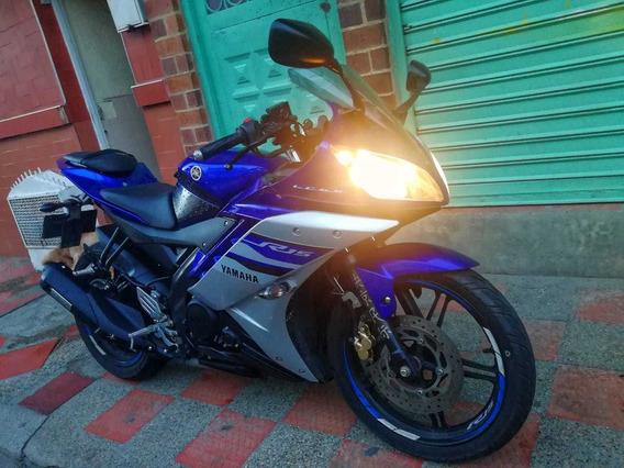 Vendo Yamaha R15 Azul Modelo 2019