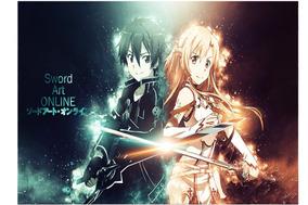 Sword Art Online (kirito E Asuna )