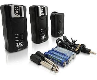 Flash Trigger Radio Disparador Inalambrico 2 Receptores