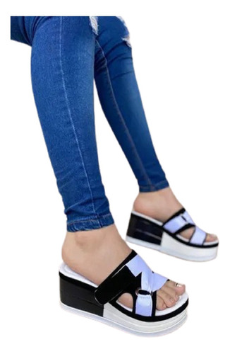 Sandalias Altas Plataforma  Mujer Moda