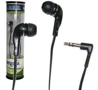 Auricular Nisuta Ns Au18 Stereo En Blister Gran Diseño
