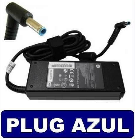Fonte Carregador Ultrabook Hp Pavilion X360 14-d02 Plug Azul