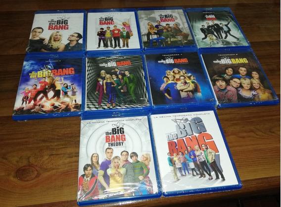 Big Bang Theory Temporadas 1 A 10 Blue Ray Calidad Nuevas