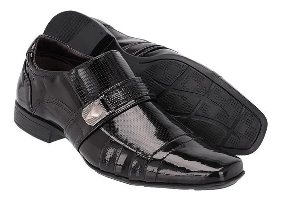 Sapato Social Masculino Em Verniz Ref :477