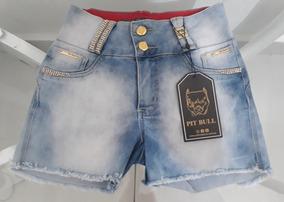 Shorts Pit Bull Jeans Com Bojo Tam. 42 Veste 38/40