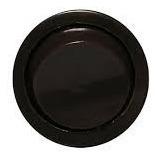 Interruptor Redondo Bolinha Black (embutir Móveis) 5pack