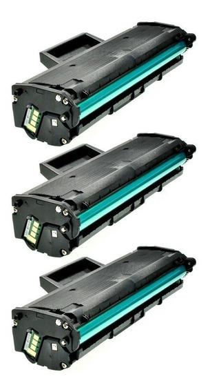 3x Toner Mlt-d111 Xpress M2020 M2020fw M2070w M2022w M2022