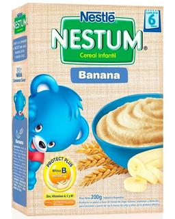 Nestum Banana Cereal Infantil X 200g Nestle Alimento Niños