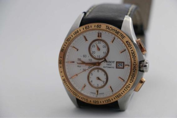Relógio Tissot - Aço E Ouro