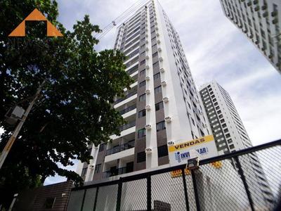 Apartamento Com 3 Dormitórios Para Alugar, 60 M² Por R$ 1.500/mês - Boa Viagem - Recife/pe - Ap1438
