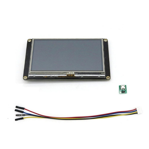 Tela Lcd Nextion 4,3 Enhanced 480x272 Ihm Touch *100317